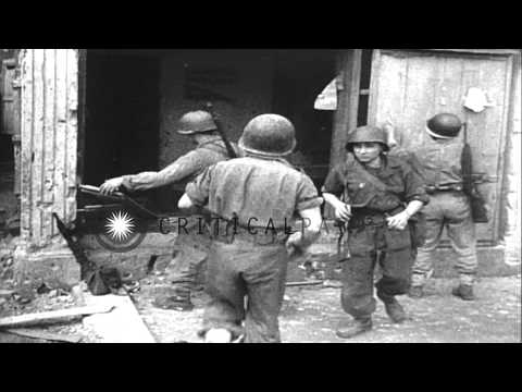 French troops battle Viet Minh insurgents in Indochina HD Stock Footage