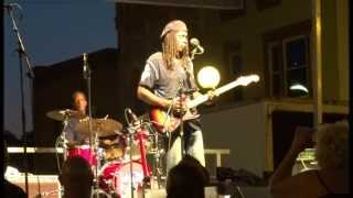 Bernard Allison - Love was meant to be - at the Marshall Michigan Blues Fest 2013