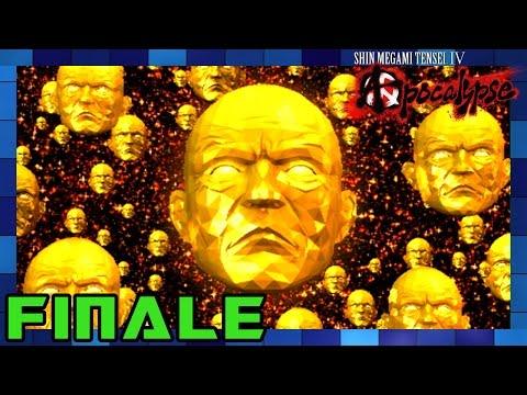 Shin Megami Tensei IV: Apocalypse - Walkthrough Part 44 Final Boss: YHVH FINALE