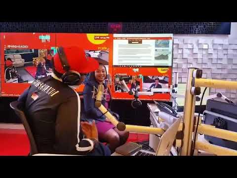 WIZKID IN NAIROBI || NRG RADIO(Part 1)
