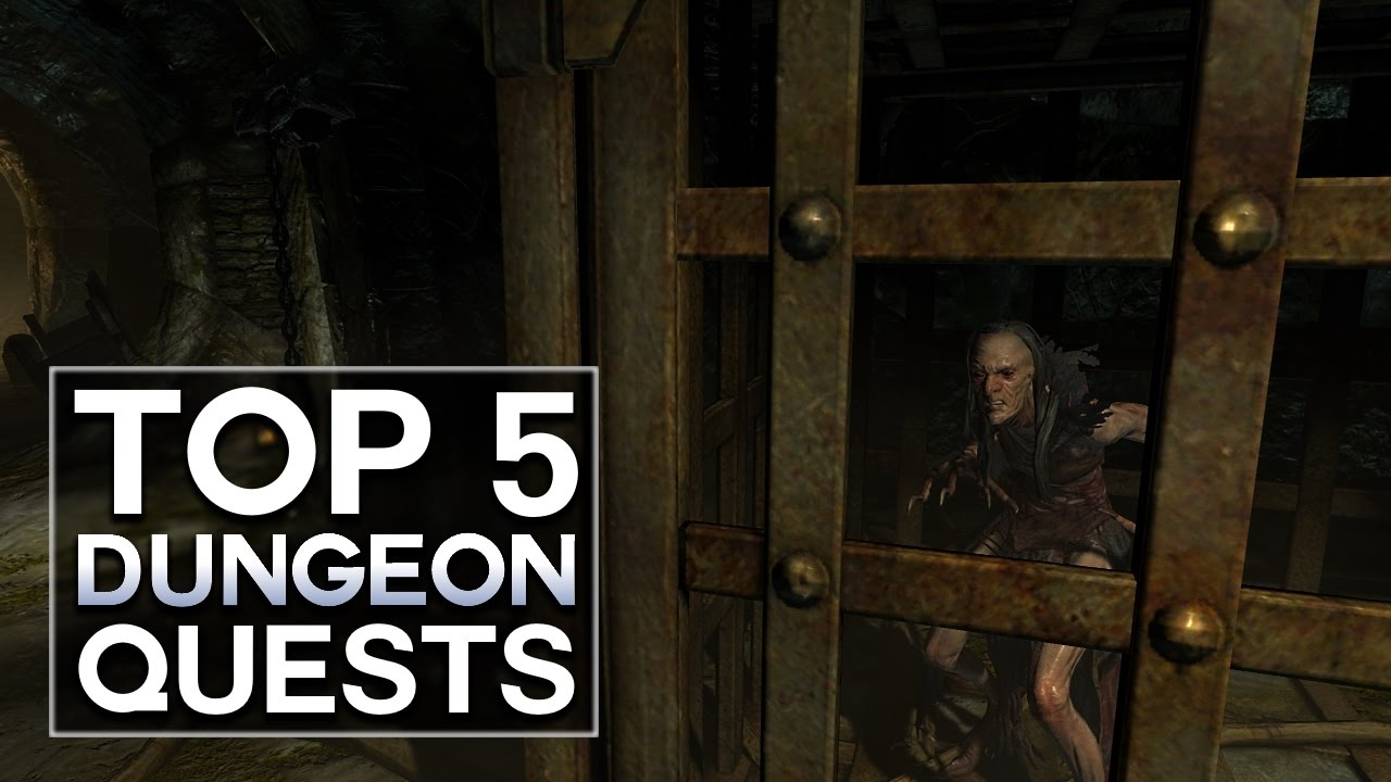 Skyrim - Top 5 Dungeon Quests