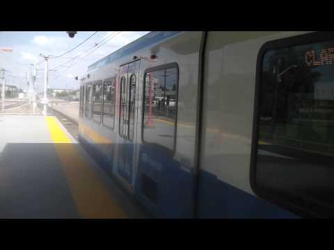 Edmonton sd-160 LRT at Stadium Station August 5th 2014
