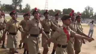 Army Parade at Mahavir Stadium (Hisar) on Independence Day (2014) (1080p HD)