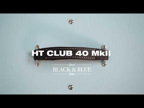 HT Club 40 MkII Black & Blue   Blackstar