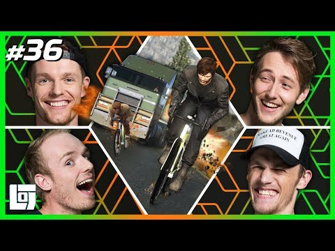 GTA V: FIETSERS vs. TRUCKERS met Enzo, Jeremy, Milan en Joost | XL Battle | LOGS2 #36