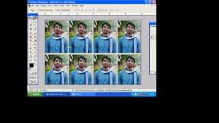HOW TO MAKE A PASSPORT PHOTO MYSELF IN PHOTOSHOP 7 0 IN TELUGU TUTORIAL BY TAMIL VIJAY