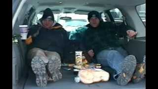 Tailgate Party.at The Last Game at Veterans Stadium, Eagles vs Buccaneers NFC Championship, FUNNY!