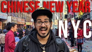 Chinese New Year in New York City 2019 Year of the Pig!