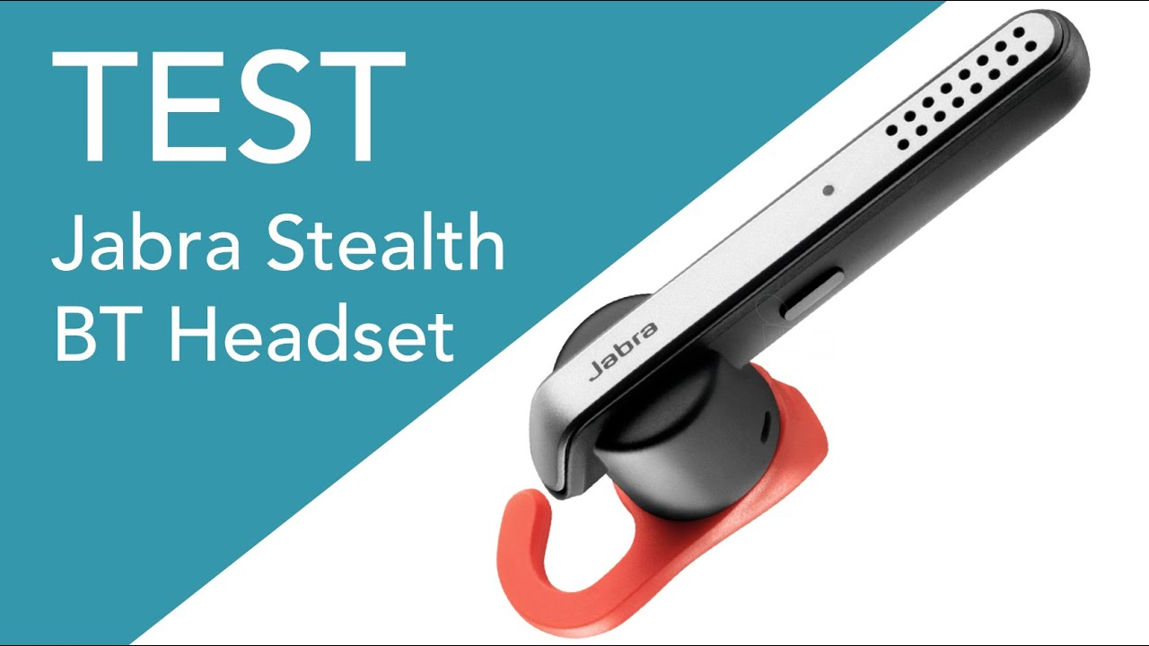 Quick test of the Jabra Stealth Bluetooth headset vs Plantronics Marque 2 -  as mic for streaming