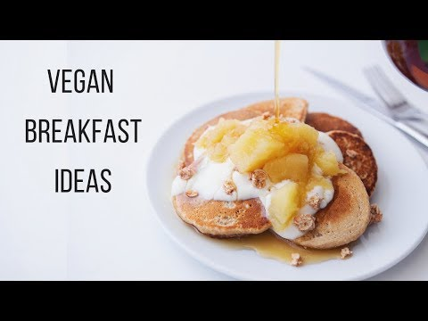 Vegan Breakfast Ideas for Fall + Winter!