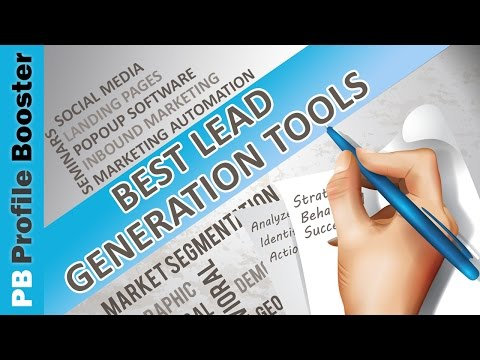 Lead Generation Tools in 2017 – The Top 3 Tools You Must Use in Your Business