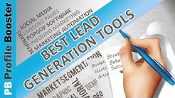 Lead Generation Tools - The Top 3 Tools You Must Use in Your Business