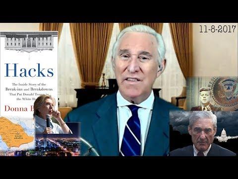 Roger Stone Discusses Donna Braziles New Book, Robert Mueller, Trump, Saudi Arabia Current Events
