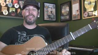 Guitar Lessons - 21 Guns by Green Day - cover chords lesson Beginners Acoustic songs