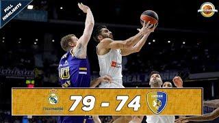 Real Madrid - Khimki Moscow region |79-74| ● Full Highlights ● Round 7