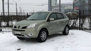 Renault Koleos 2008 год CVT 4WD