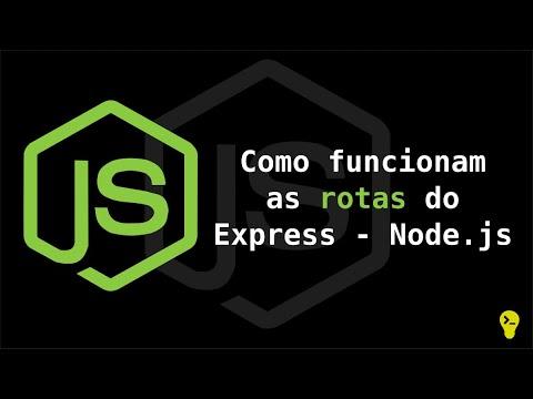 Como utilizar rotas no Express - Node.js