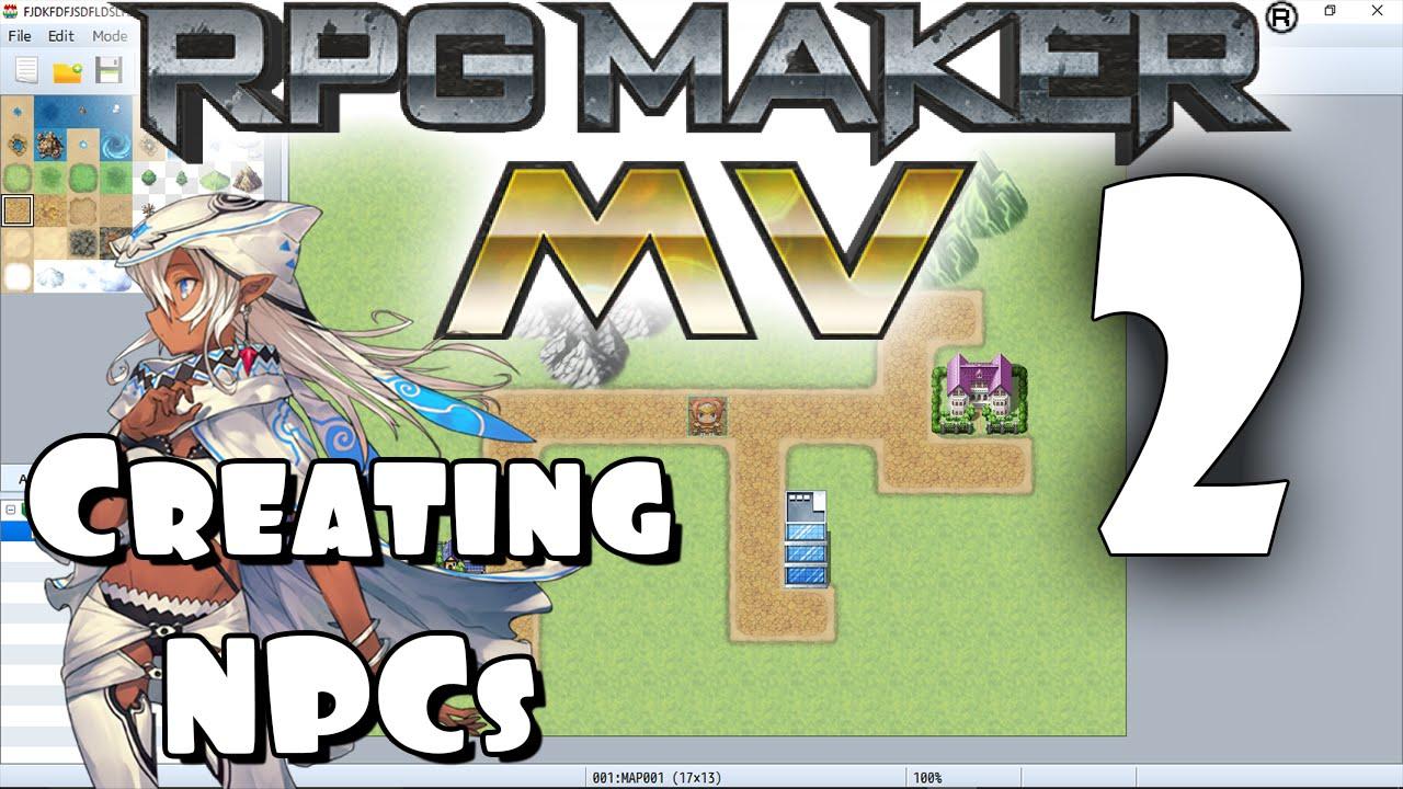 RPG Maker MV Tutorial #2 - Creating an NPC!