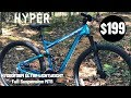 Hyper Hydroform Full Suspension Mountain Bike $199 at Walmart
