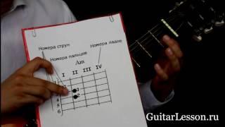 Как читаются аппликатуры? Урок на гитаре.