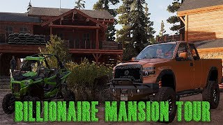 Far Cry 5 Billionaire Mansion + Land Tour