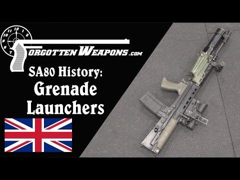 SA80 History: Underbarrel Grenade Launchers