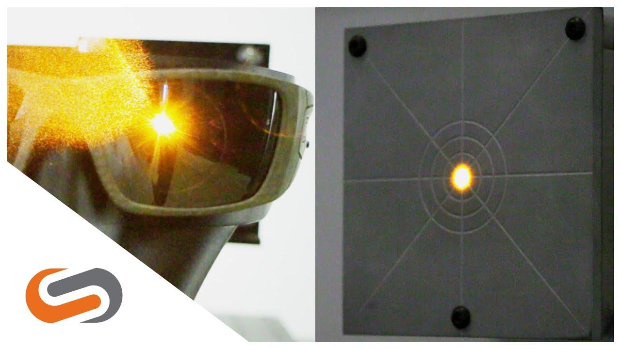 883d0f83840 Oakley Optics Part 1  Laser Lens Clarity Test