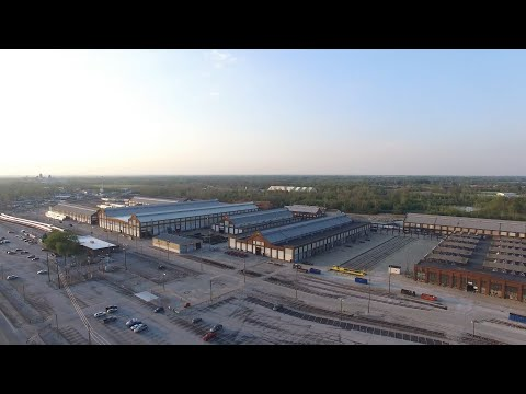 EXCLUSIVE DRONE FOOTAGE OF FUTURE BEECH GROVE 'FEMA CAMP'