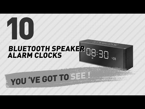 Bluetooth Speaker Alarm Clocks // New & Popular 2017