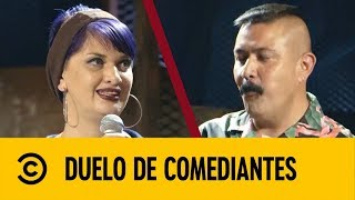 Nicho VS Catalina Guzmán | Duelo De Comediantes | Comedy Central LA
