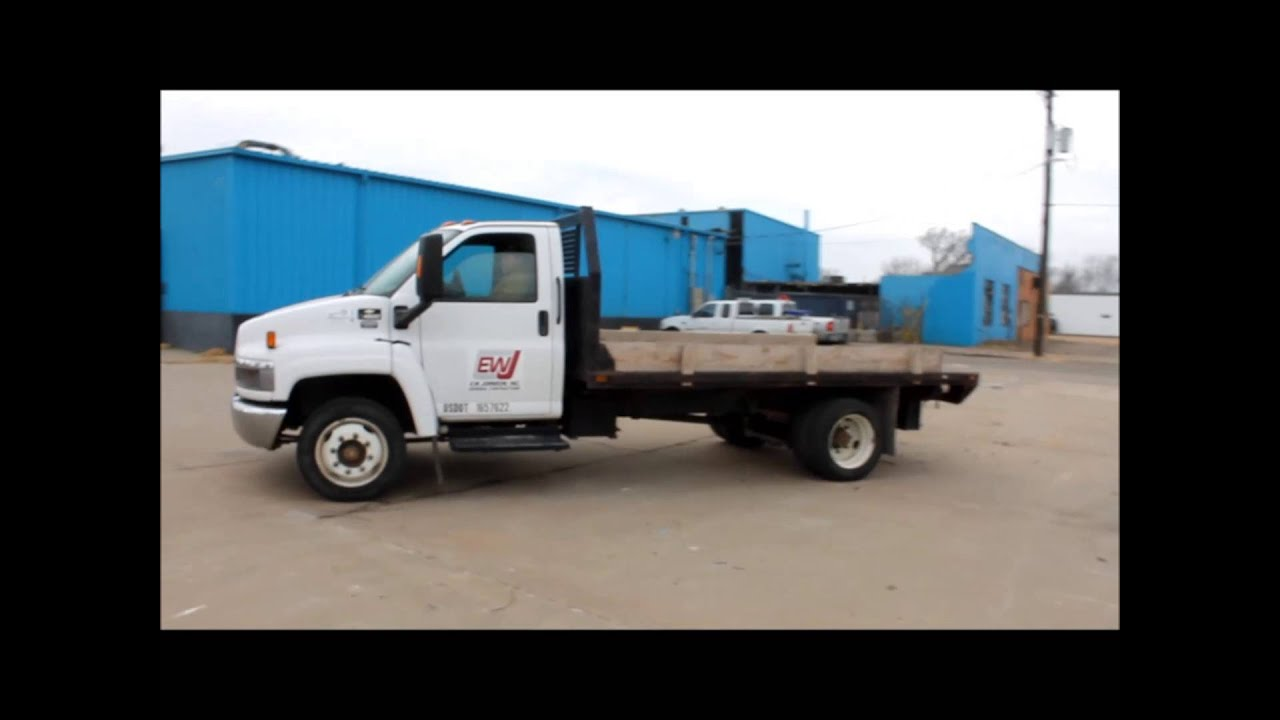 All Chevy chevy c4500 : 2005 Chevrolet C4500 flat dump bed truck for sale | sold at ...