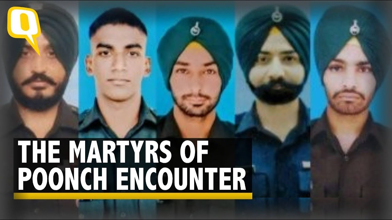 Download A Sole Breadwinner, A Newly Married: Who Are the Five Soldiers Killed in Poonch Encounter  The Quint