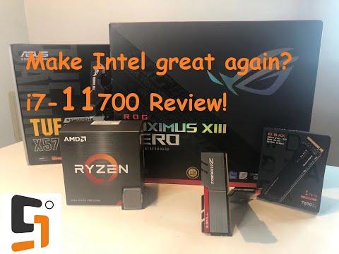 Make Intel great again? 11th gen i7 11700 Rocket Lake processor review!