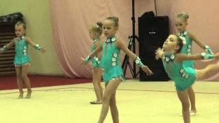Соревнования по художественной гимнастике. Астрахань