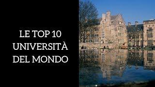 Le migliori 10 università del mondo (per trovare lavoro)