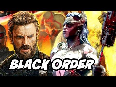 Avengers Infinity War Captain America Black Order Trailer Breakdown