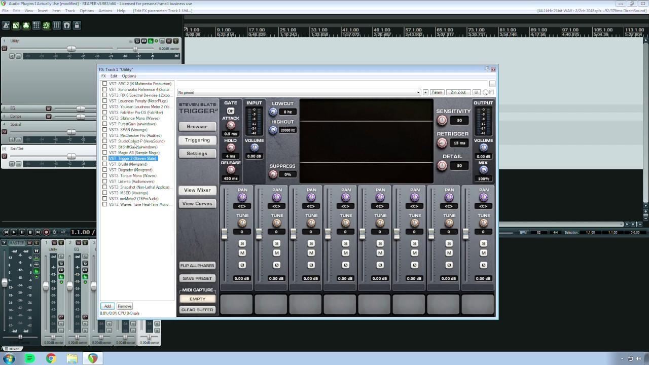 Favorite Utility Audio Plugins 2019 Autumn VST - How To Make