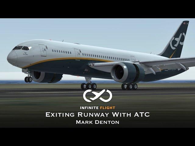 Exiting Runway With ATC