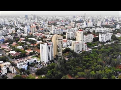 Santo Domingo City 2019 - Dominican Republic exposed city park | DR economy documentary