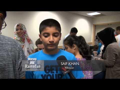 Puasa di AS: Kegiatan Beramal (1) - Warung VOA Ramadan