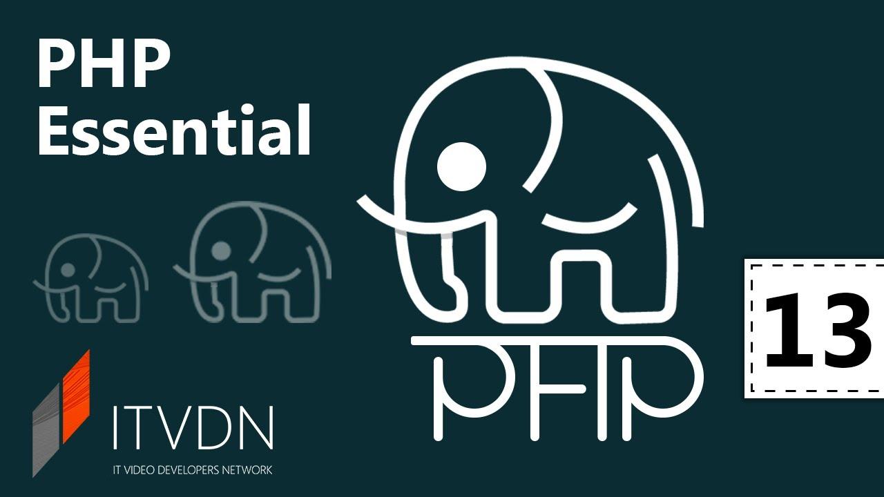 PHP Essential. Урок 13. MVC