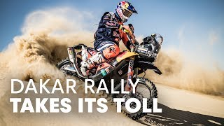 Dealing With The Challenges Of The Dakar   Up Front With The KTM Rally Team Part 3