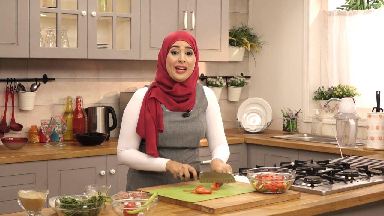 صحي مع سمر حمدي - سمك بلطي سنجاري وطحينة لايت الجزء الثاني