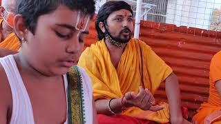 वैदिक पुरुष सूक्तं Vedic Mantras by 21 Brahmins  Rudri Patham   Yagnyam