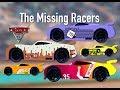 Disney Cars 3 The Missing Racers/Sponsors - Tach-O-Mint, Retread, Shifty Drug, Fiber Fuel, Sidewall