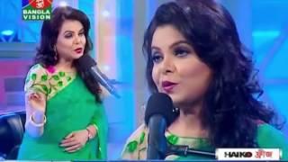 Aji Jhoro Jhoro Mukhoro Badolo Dine | Bangla New Song | Robindro Songit