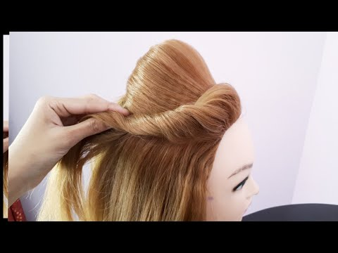 Everyday Full Puff Hairstyle || Puff With Open Hair || Simple Front Puff || Puff Hairstyle thumbnail
