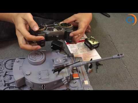 Hướng DẫnXe Tank Điều Khiển Từ Xa Bắn Đạn và Có Khói 2.4Ghz 789-3 - Asun.vn