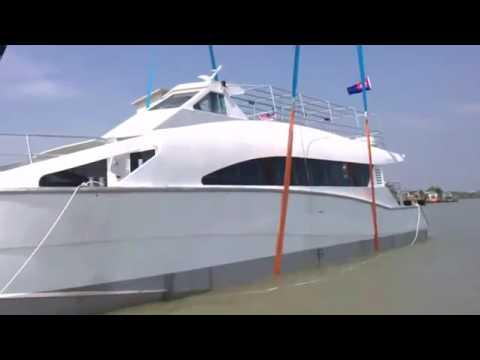 Marlin Marine Muar Johore , Malaysia  Part 2   Catamaran Ferry