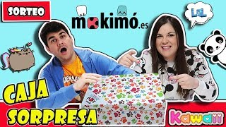 Mokimó Caja Sorpresa Kawaii & Cute I Surprise Box LOL RETOS DIVERTIDOS SORTEO #LOLMOKIMO
